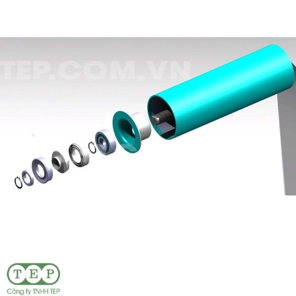 Con lăn tải thép - Carrying roller