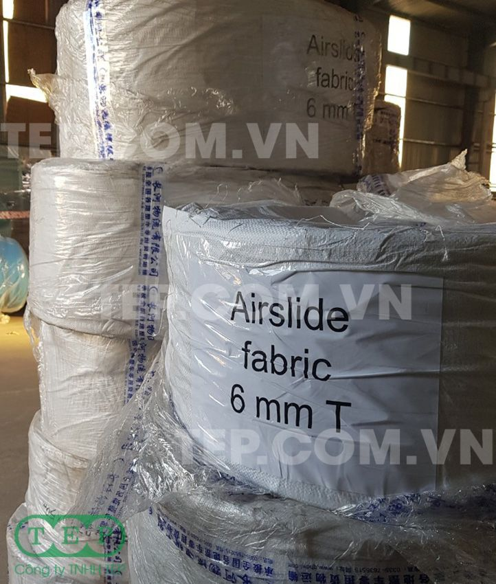 Vải máng khí động - Airslide fabric
