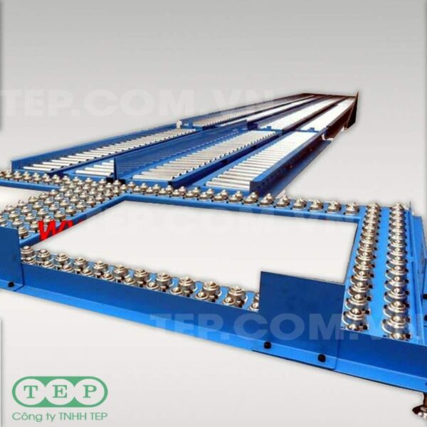 Dàn con lăn bi cầu - Ball transfer tables conveyor