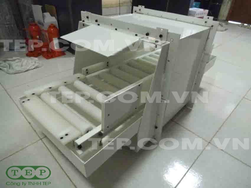 Dàn con lăn nhựa - PVC roller conveyor
