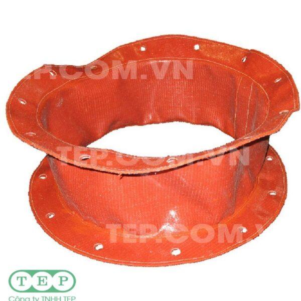 Khớp nối silicone chịu nhiệt - Silicone coated fabric