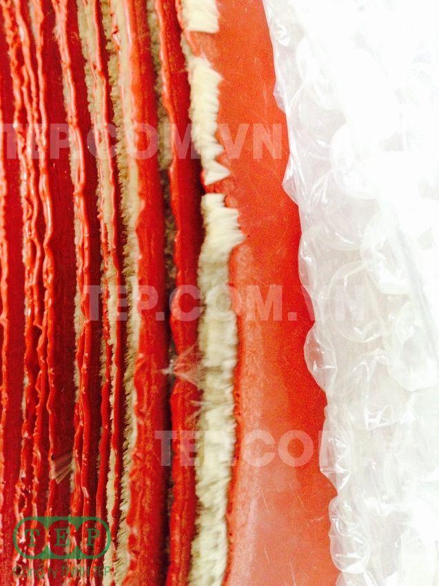 Vải silicone chịu nhiệt - Silicone coated fabric