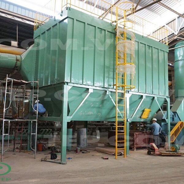 Lọc bụi Túi Vải nhà máy gạch - Ceramic Baghouse dust collector