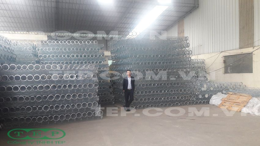 Xuất khẩu container rọ lọc bụi - Filter cage exporting