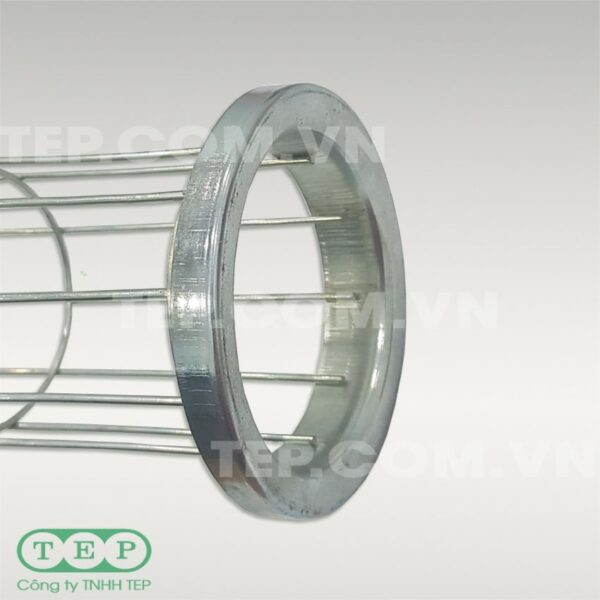 Rọ túi lọc bụi mạ kẽm - galvanised steel filter cage