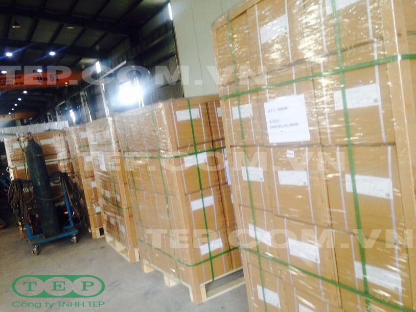 Đóng gói túi vải xuất khẩu - Exporting filter bag