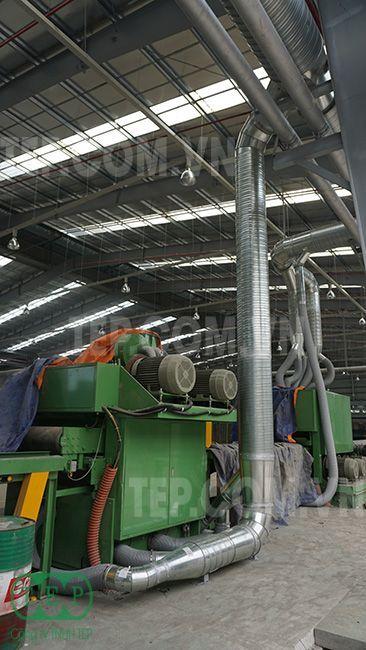Lọc bụi Túi Vải nhà máy ván ép - Woodply Baghouse dust collector