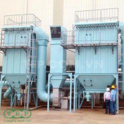 Lọc bụi túi vải nhà máy sản xuất bơm - Pump factory dust collector