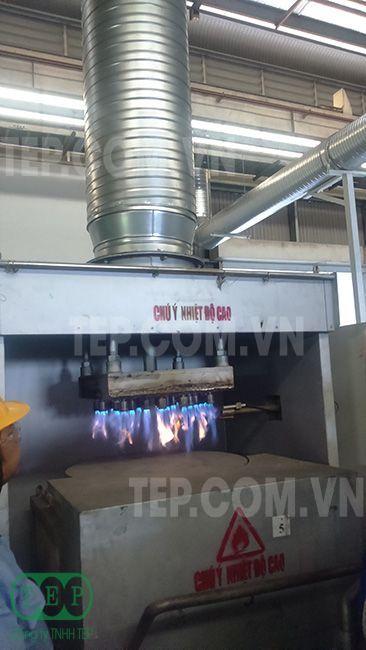 Hệ thống đường ống xoắn thu bụi nhiệt độ cao - Spiral duct