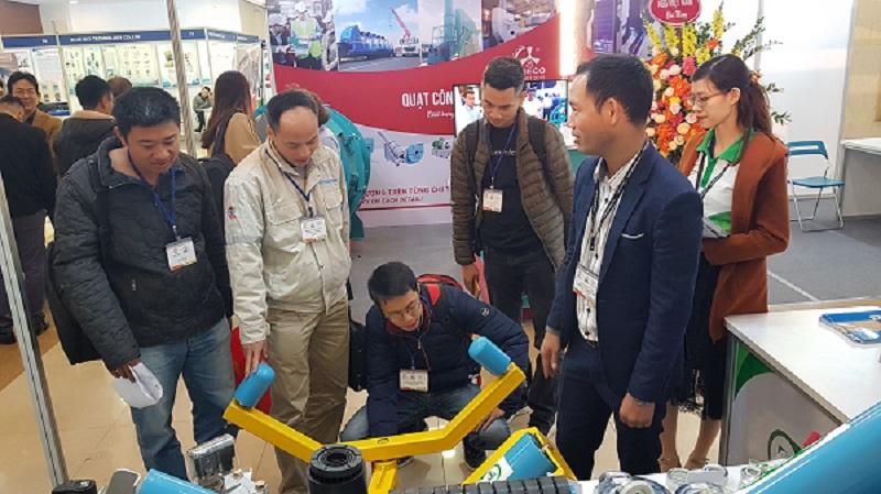Công ty TNHH TEP tại triển lãm bê tông xi măng Việt Nam 2019